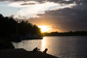 ヌガラの運河